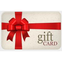 Duty Free Crystal Gift Card