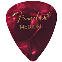 Fender Heavy Red Celluloid Picks
