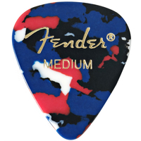 Fender Thin Confetti Celluloid Picks