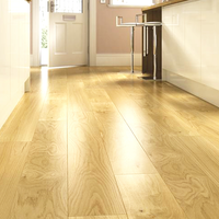 Fyfield Engineered Natural Oak Lacquered 125mm x 18/5mm Wood Flooring