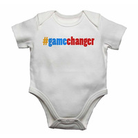 #Gamechanger Baby Vests Bodysuits