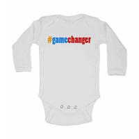 #Gamechanger - Long Sleeve Baby Vest