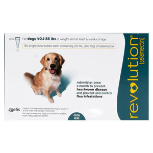 Revolution Large Dogs 40.1-85lbs Green 12 Doses