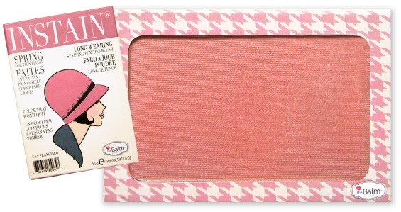 TheBalm Instain Blush Houndstooth Mauve 6,5g