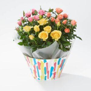 Colourful Rose Bowl