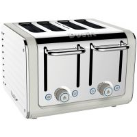 Dualit 46523 Architect Toaster 4 Slice Canvas Stainless Steel