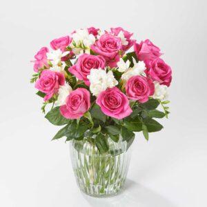 Elegant Rose and Freesia