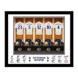 Personalised Tottenham Hotspur Dressing Room Framed Print
