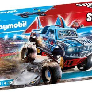 Playmobil 70550 Stunt Show Shark Monster Truck