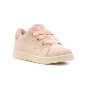 Sprox Girls Pink Lace Up Casual Shoe