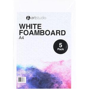 White Foamboard - A4