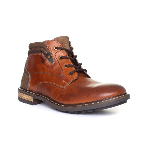 Catesby Mens Brown Lace Up Boot