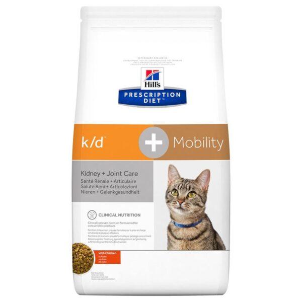 Hill's Prescription Diet Feline k/d+Mobility Kidney+Joint Care - Chicken - 5kg