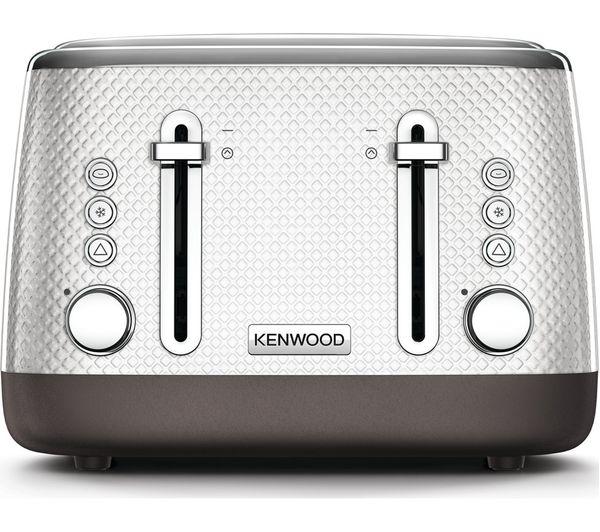 KENWOOD Mesmerine TFM810WH 4-Slice Toaster - White
