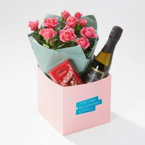 Lovely Rose Gift Box