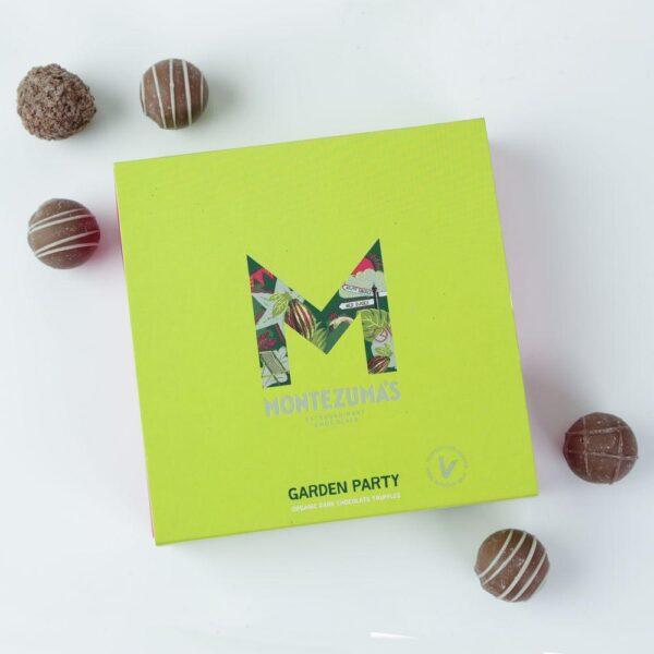 Montezuma's 'Garden Party' vegan and organic truffles