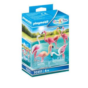 Playmobil 70351 Family Fun Flock of Flamingos