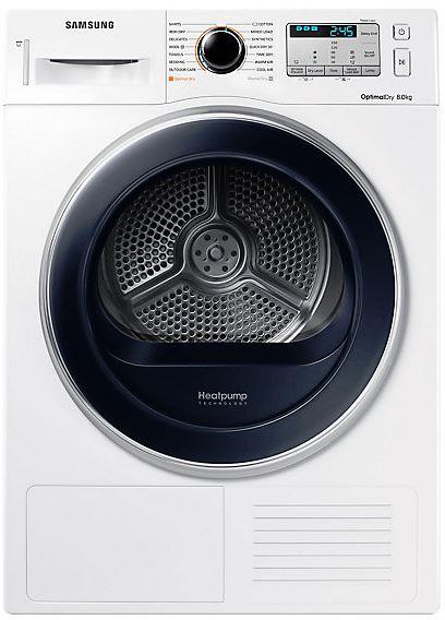Samsung DV80M5013QW Heat Pump Tumble Dryer, 8KG