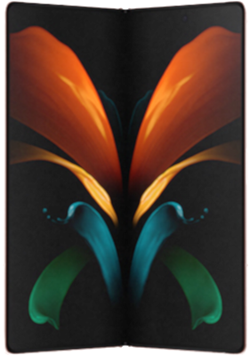 Samsung Galaxy Z Fold2 5G 256GB Mystic Bronze at £379 on Red with Entertainment (24 Month contract) with Unlimited mins & texts; 25GB of 5G data. £88 a month.