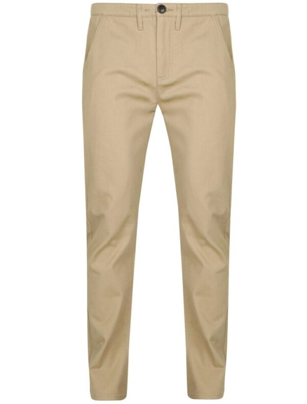 Trousers Horizon Cotton Twill Chinos in Stone - Tokyo Laundry / W36/L31 - Tokyo Laundry