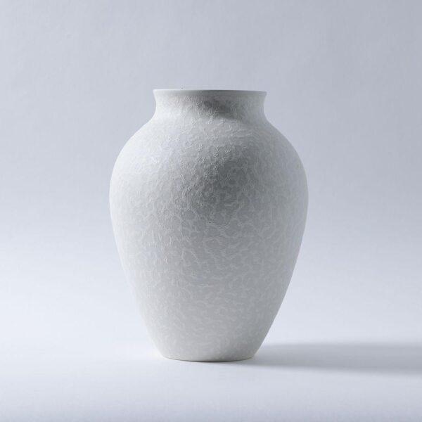 White Olpe Vase