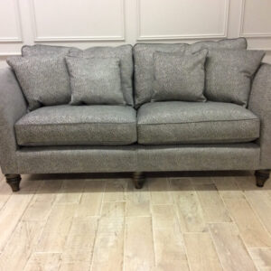 Ampleforth Large Sofa in Garbo Mosaic Steel Fabric