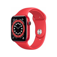 Apple Watch Series 6 GPS 40mm Red Aluminium Case Red Sport Band - M00A3B/A