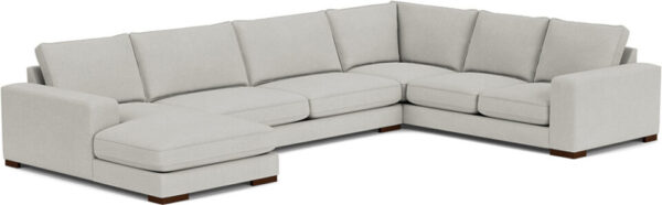 Ashdown U-Shaped Sofa with Left or Right Chaise