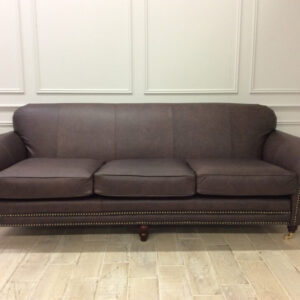 Chelsea 4 Seater Sofa in Dune Coffee Leather