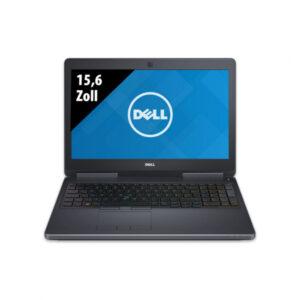 Dell Precision 7510 - 15,6 Zoll - Core i7-6820HQ @ 2,7 GHz - 32GB RAM - 500GB SSD - Nvidia Quadro M2000M - FHD (1920x1080) - Webcam - Win10Pro