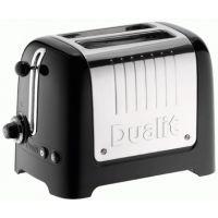 Dualit 26205 Lite Toaster 2 Slice Peek & Pop Gloss Black