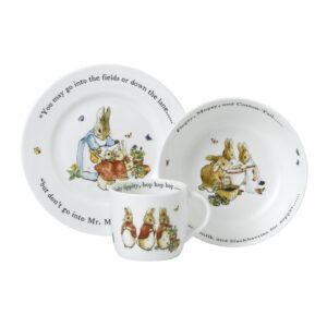 Flopsy, Mopsy and Cottontail 3 Piece Set
