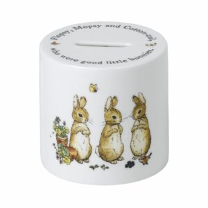 Flopsy, Mopsy and Cottontail Money Box