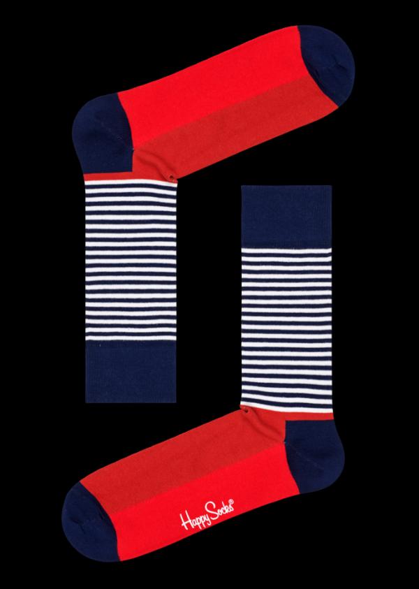 Half Stripe Sock