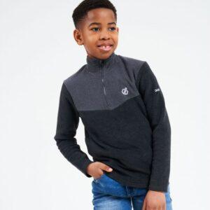 Kids' Witty Full Zip Fleece Ebony Grey Black
