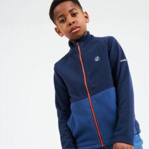 Kids' Witty Full Zip Fleece Nightfall Blue Dark Denim