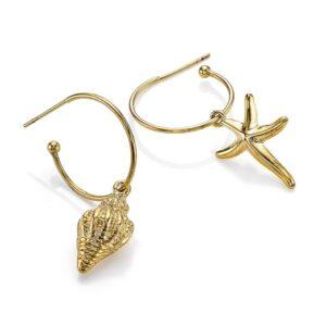 Lucky Break Shell Earrings