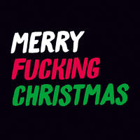 Merry Fucking Christmas Rude Christmas Card