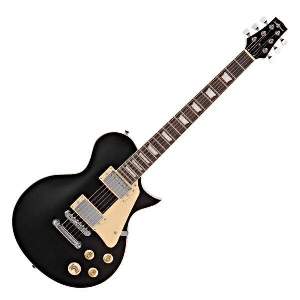 New Jersey Electric Guitar by Gear4music Black