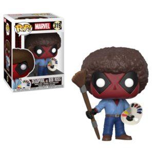 POP! Marvel: Deadpool Playtime: Deadpool Bob Ross Bobblehead