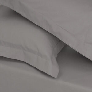 Percale Valance - Light Grey / Double