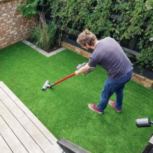 Quality Realistic 15mm Garden Artificial Grass - Wiper 4M Width
