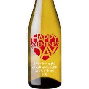 White Wine - Valentines Big Heart