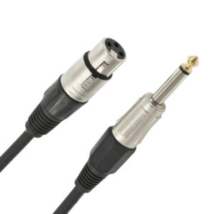 XLR (F) - Jack Microphone Cable 6m