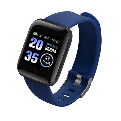 116 Plus Bracelet Fitness Sport Pression Artérielle Fréquence Cardiaque Smart Band Étanche Smartwatch D13