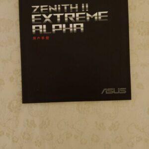 Zenith II Extreme Alpha