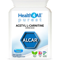 Acetyl L-Carnitine 500mg Capsules (Units: 120 Capsules (V))