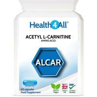 Acetyl L-Carnitine 500mg Capsules (Units: 60 Capsules (V))