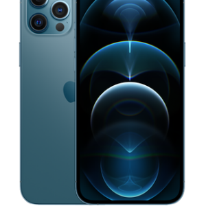Apple iPhone 12 Pro Max 5G (128GB Pacific Blue) at £29 on Red (36 Month contract) with Unlimited mins & texts; 2GB of 5G data. £49 a month.