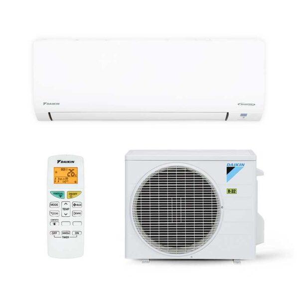 Ar Condicionado Split Hi Wall Inverter Daikin Eco Swing 12000 Btus Quente/Frio 220V Mono FTHP12Q5VL